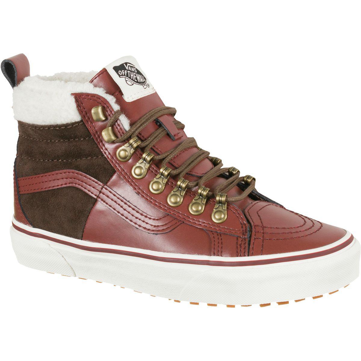 Vans Leather U Sk8 hi 46 Mte Dx Boot in Brown Lyst