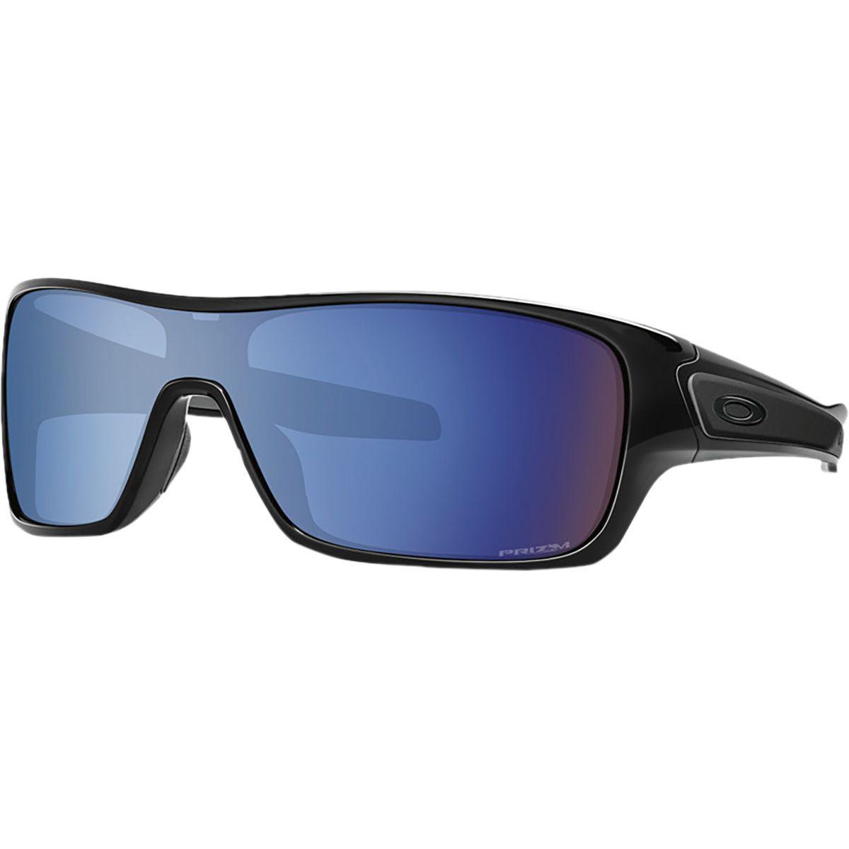 f017ec62dd Lyst - Oakley Turbine Rotor Prizm Sunglasses in Blue for Men