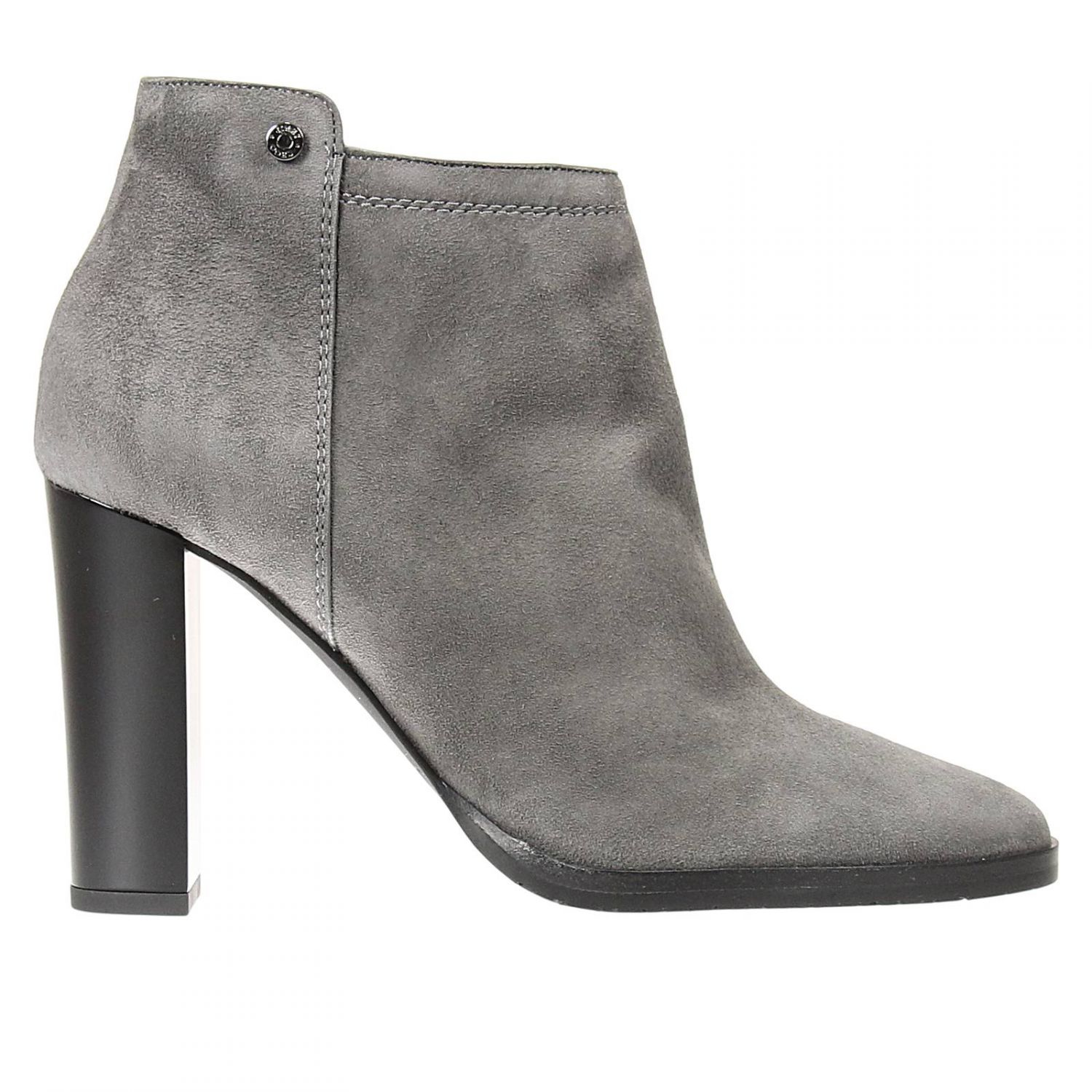 jimmy choo ankle boots in gray grey save 51 lyst. Black Bedroom Furniture Sets. Home Design Ideas