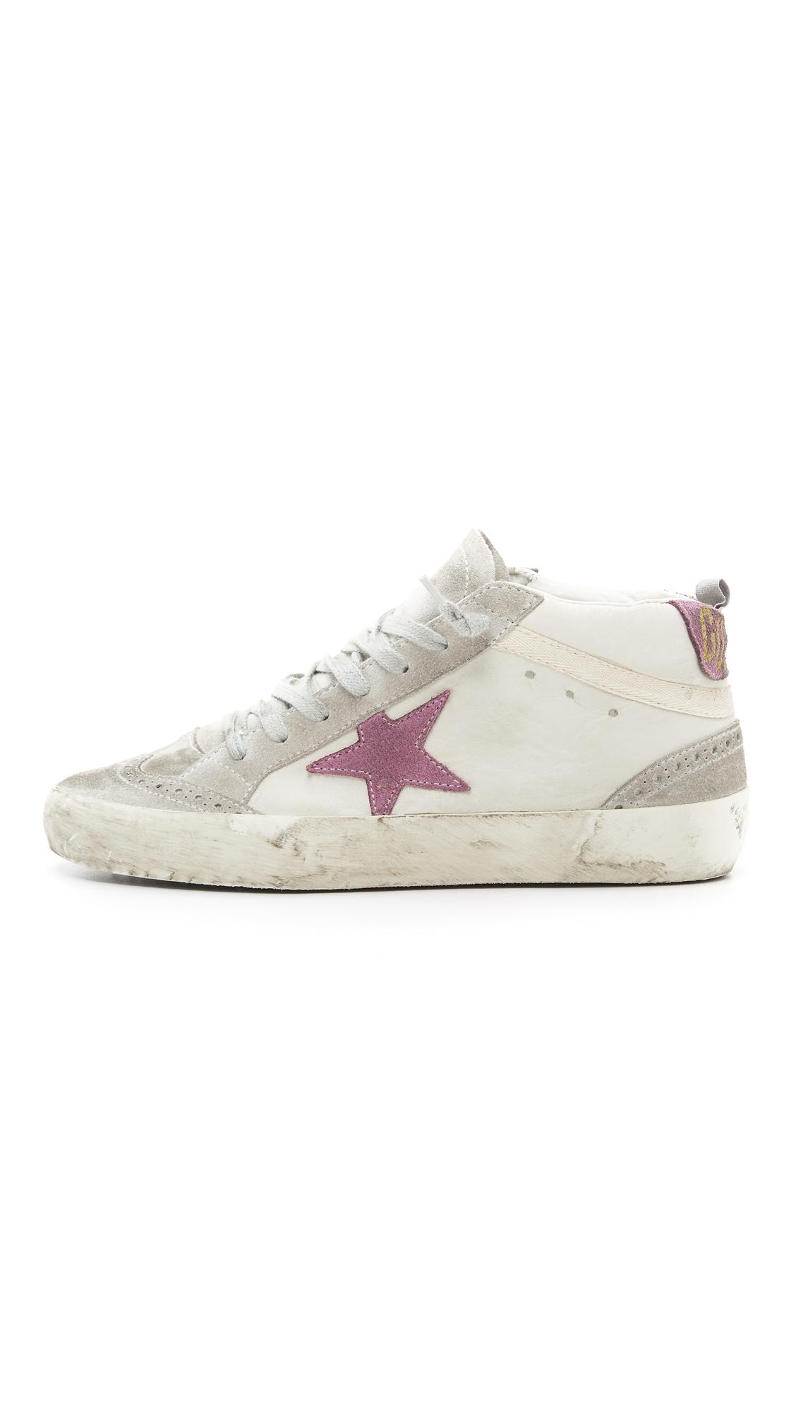 mid star sneakers - Pink & Purple Golden Goose KBAXG4eUc