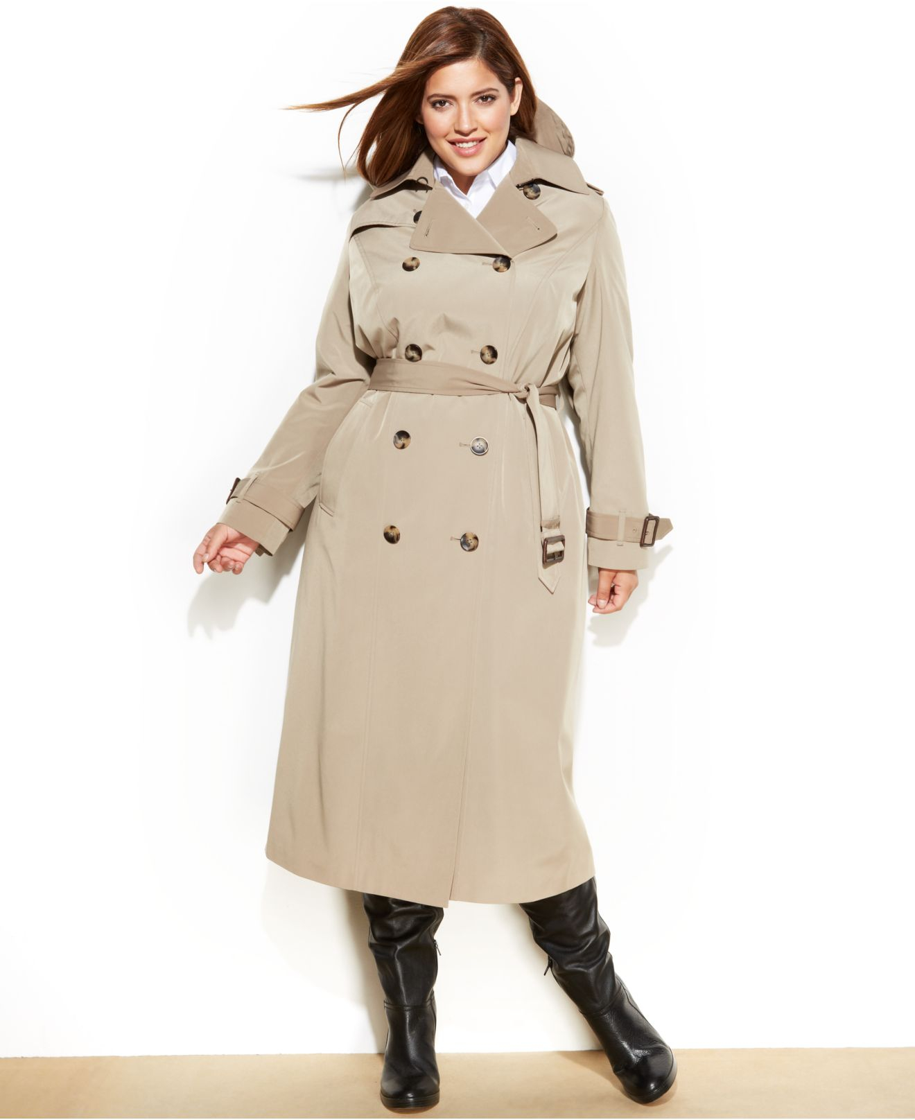 low cost latest design multiple colors London Fog Women S Trench Coat Plus Size - Tradingbasis