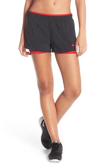 7e604d9dcc7e Nike 'full Flex 2-in-1 2.0' Training Shorts in Black - Lyst