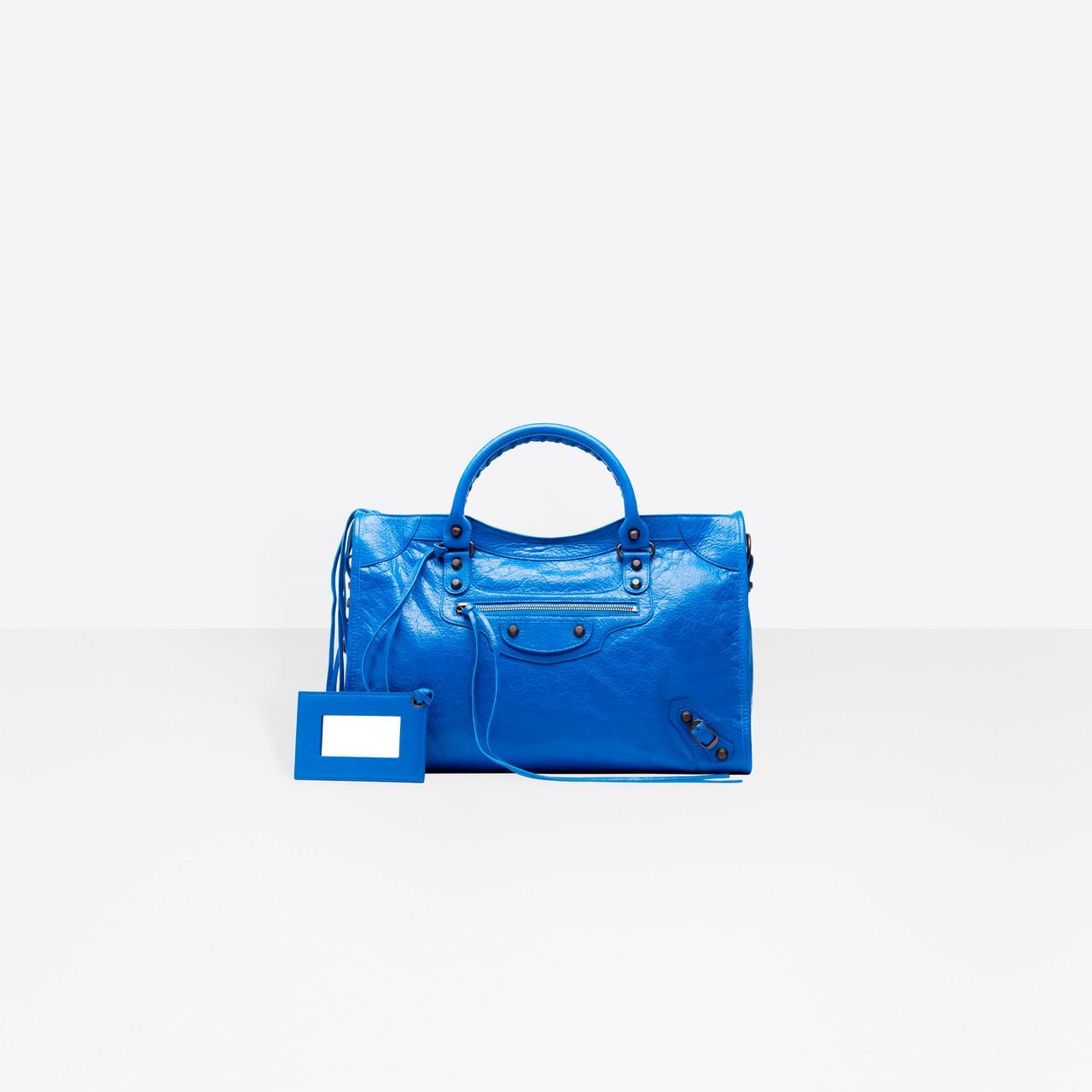 Lyst Balenciaga Classic City In Blue