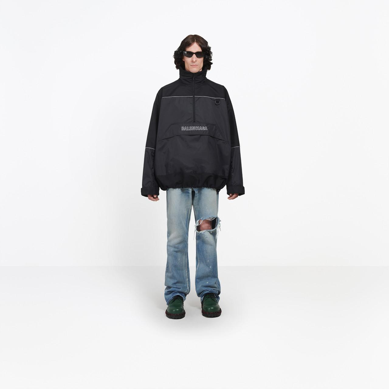 6ca40c6bc5a Balenciaga 80s Windbreaker in Black for Men - Lyst