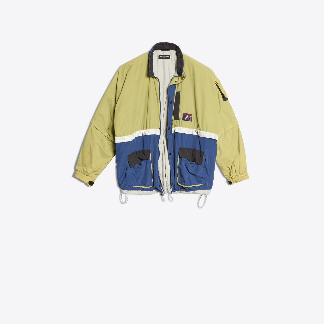 760dfb9c8f2d Balenciaga Padded Lining Parka in Yellow for Men - Lyst