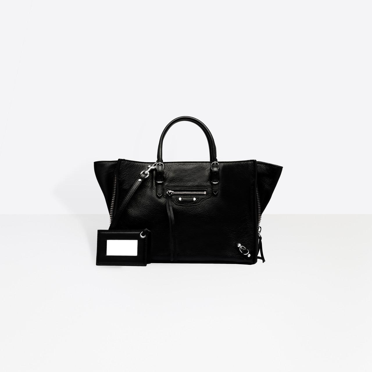 d61f66f29180ee Balenciaga Papier A6 Zip Around in Black - Lyst