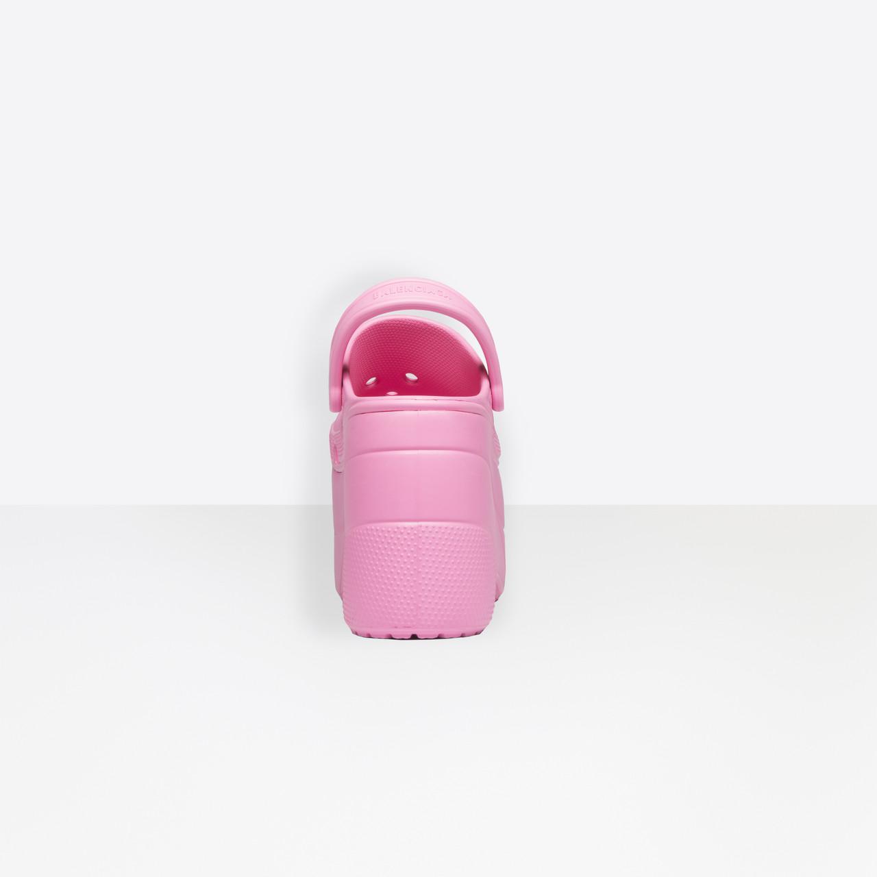 7b42f5af617 Lyst - Balenciaga Foam Platform Sandals in Pink