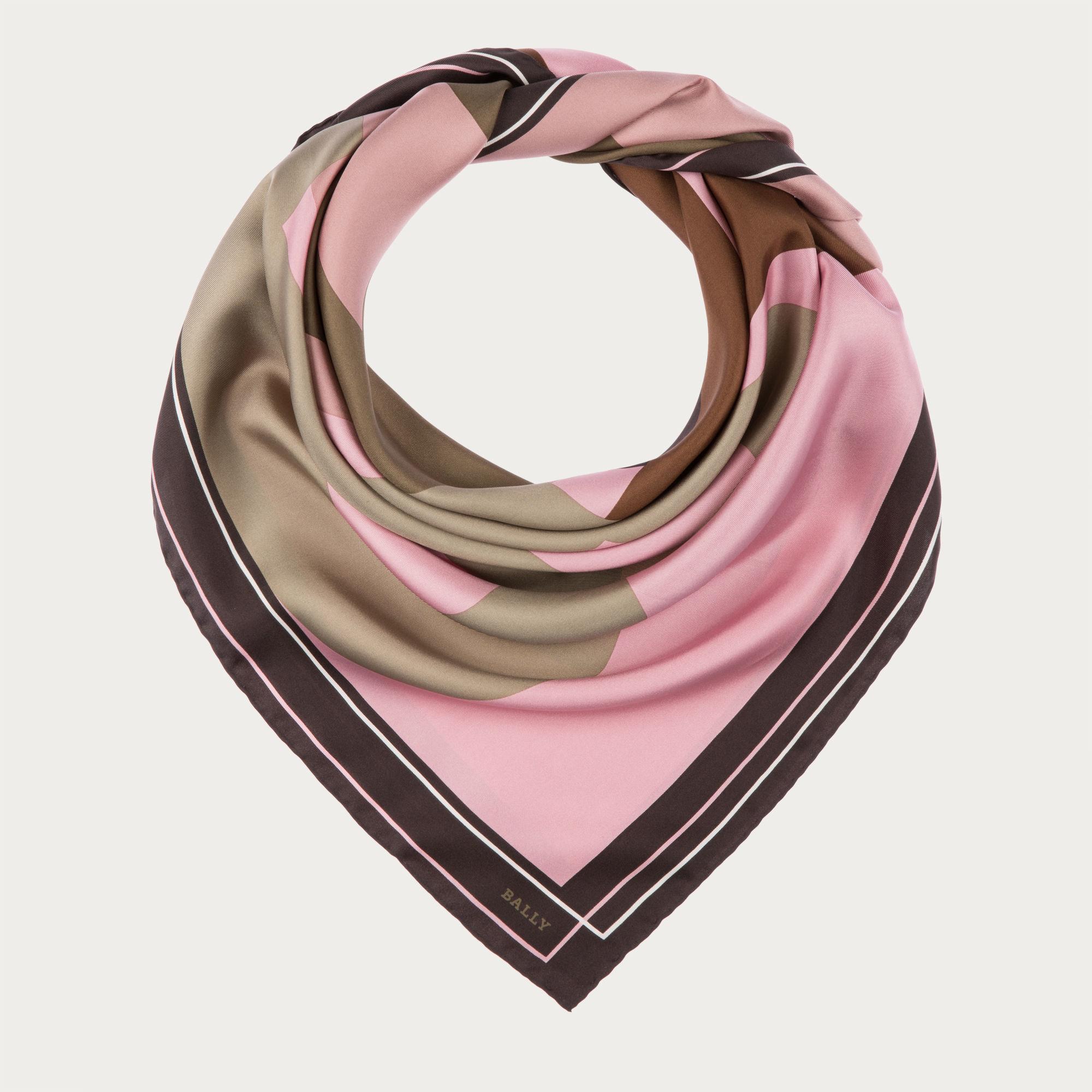 bally printed silk scarf s silk scarf in