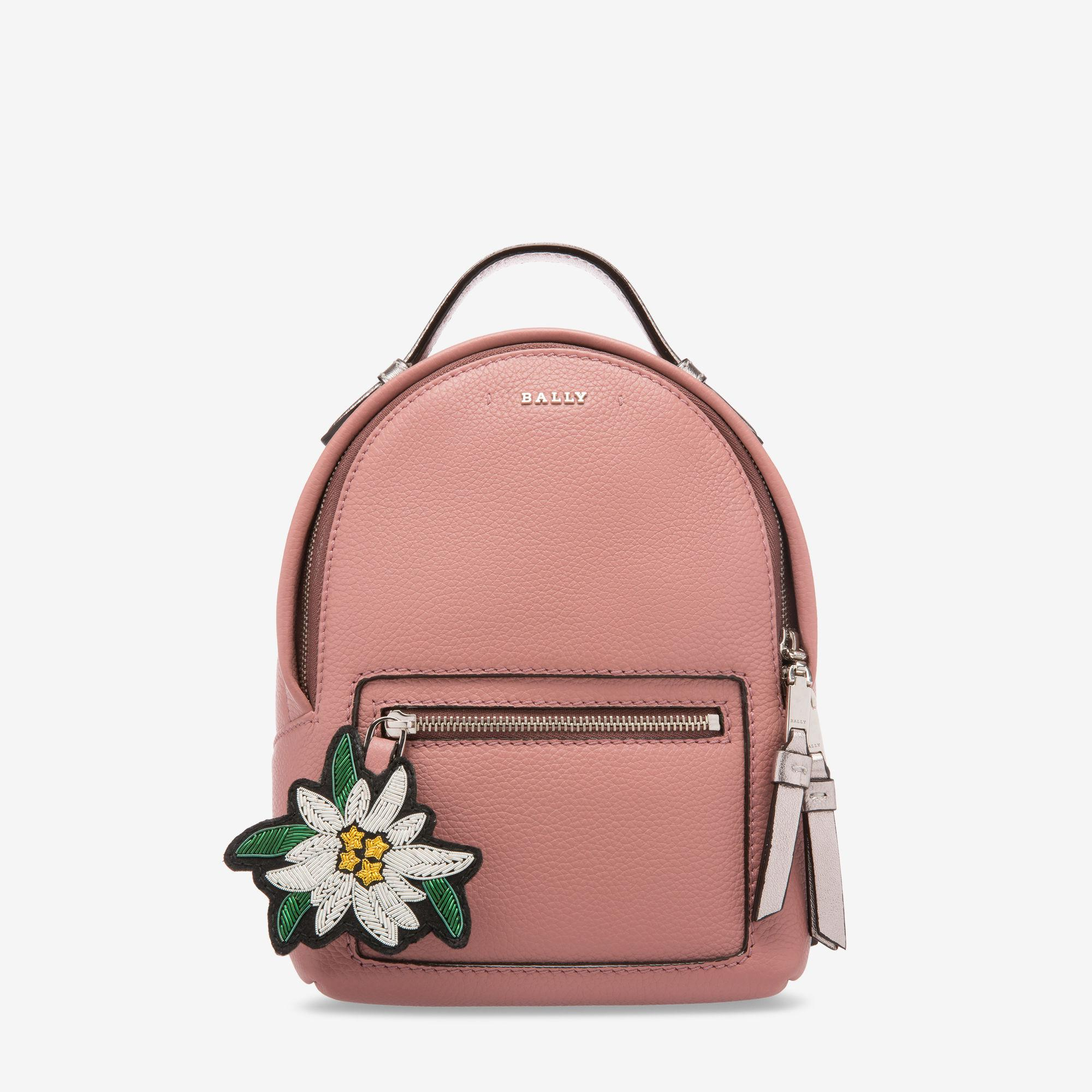 bc53196896 Lyst - Bally The Backpack Extra Small in Pink