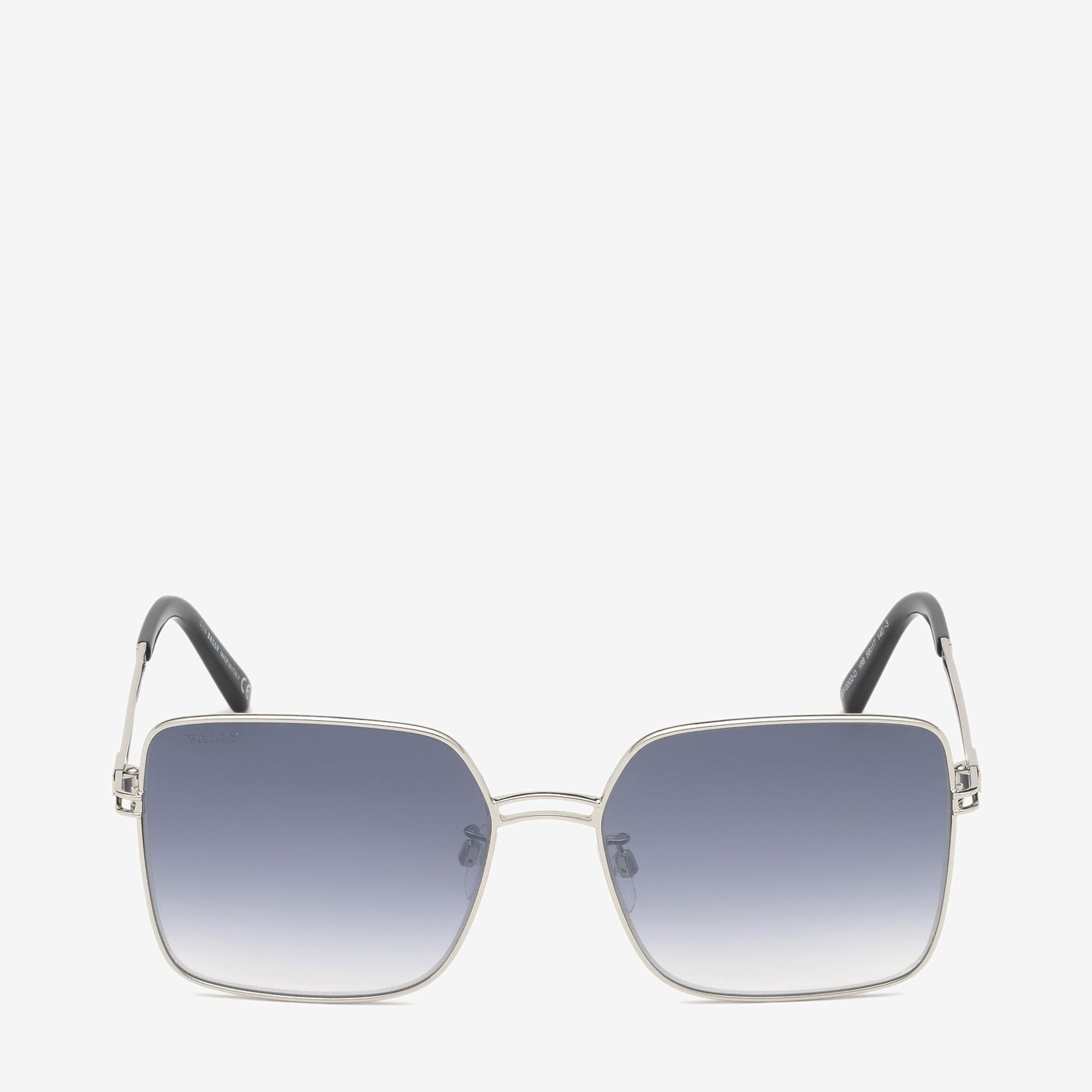 442dc83217 Lyst - Bally Sunkist Square Frame Sunglasses in Gray