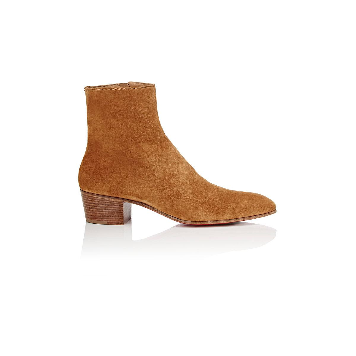 Huston suede ankle boots Christian Louboutin Lw6Le2Fc