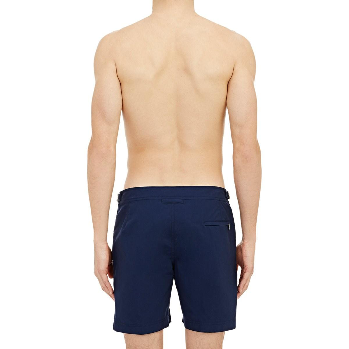 b80c8ac0dc Lyst - Orlebar Brown Bulldog Swim Trunks in Blue for Men