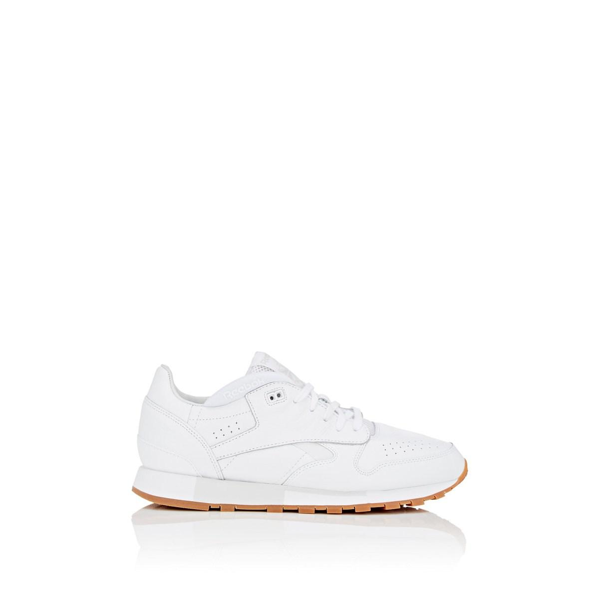 Lyst - Reebok Urge Leather Sneakers in White for Men - Save ... 04d3c3ae9