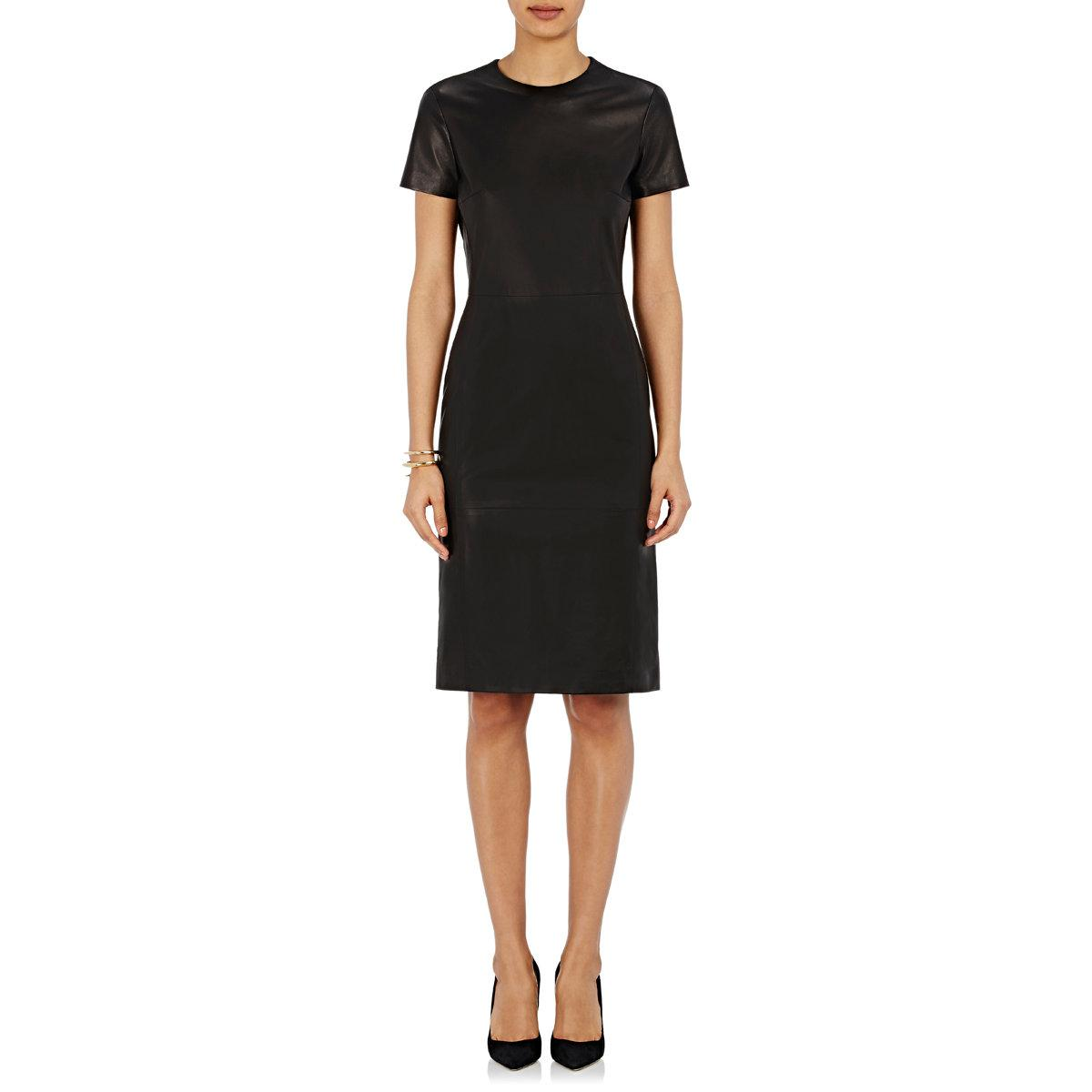 Womens Lambskin Midi-Dress Barneys New York Cheap Fashion Style Affordable Cheap Price Fast Delivery Footlocker Pictures Online aT2a8vk1
