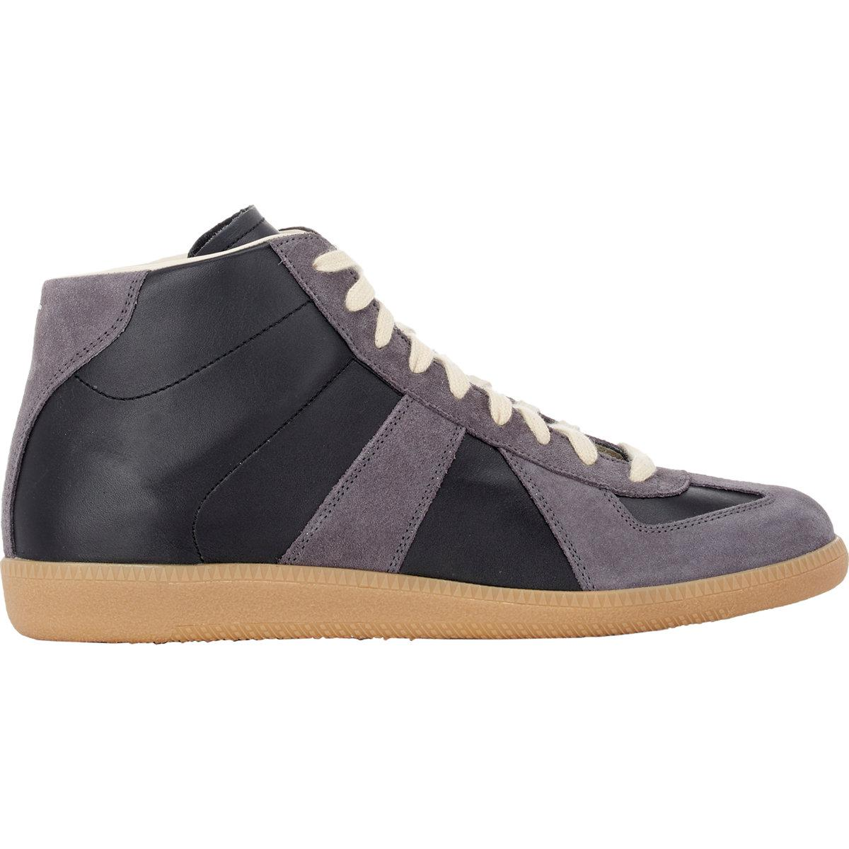Black and Brown Classic Mid Sneakers Maison Martin Margiela yKIqZzKHU