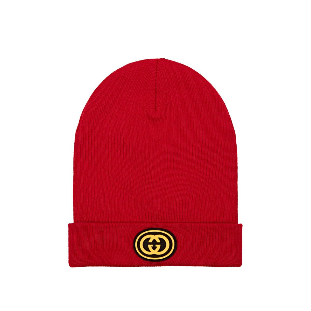 Gucci - Red Ny Yankeestm Wool Beanie for Men - Lyst. View fullscreen 251c11b33bff