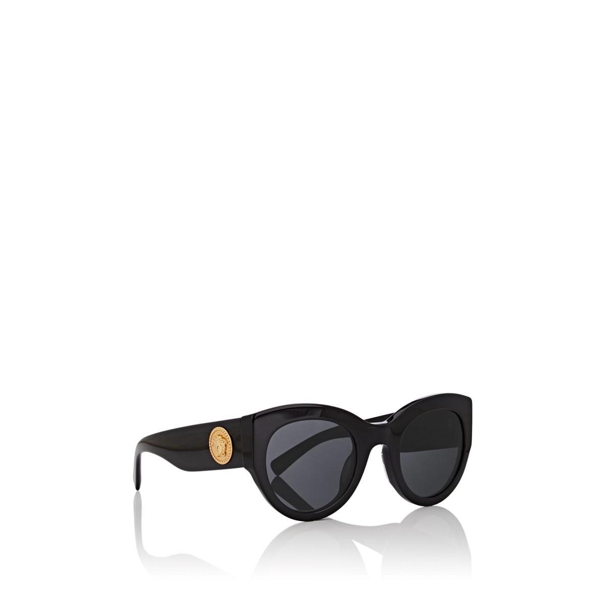 4f3c5655e5b7 Versace - Black Tribute Sunglasses - Lyst. View fullscreen