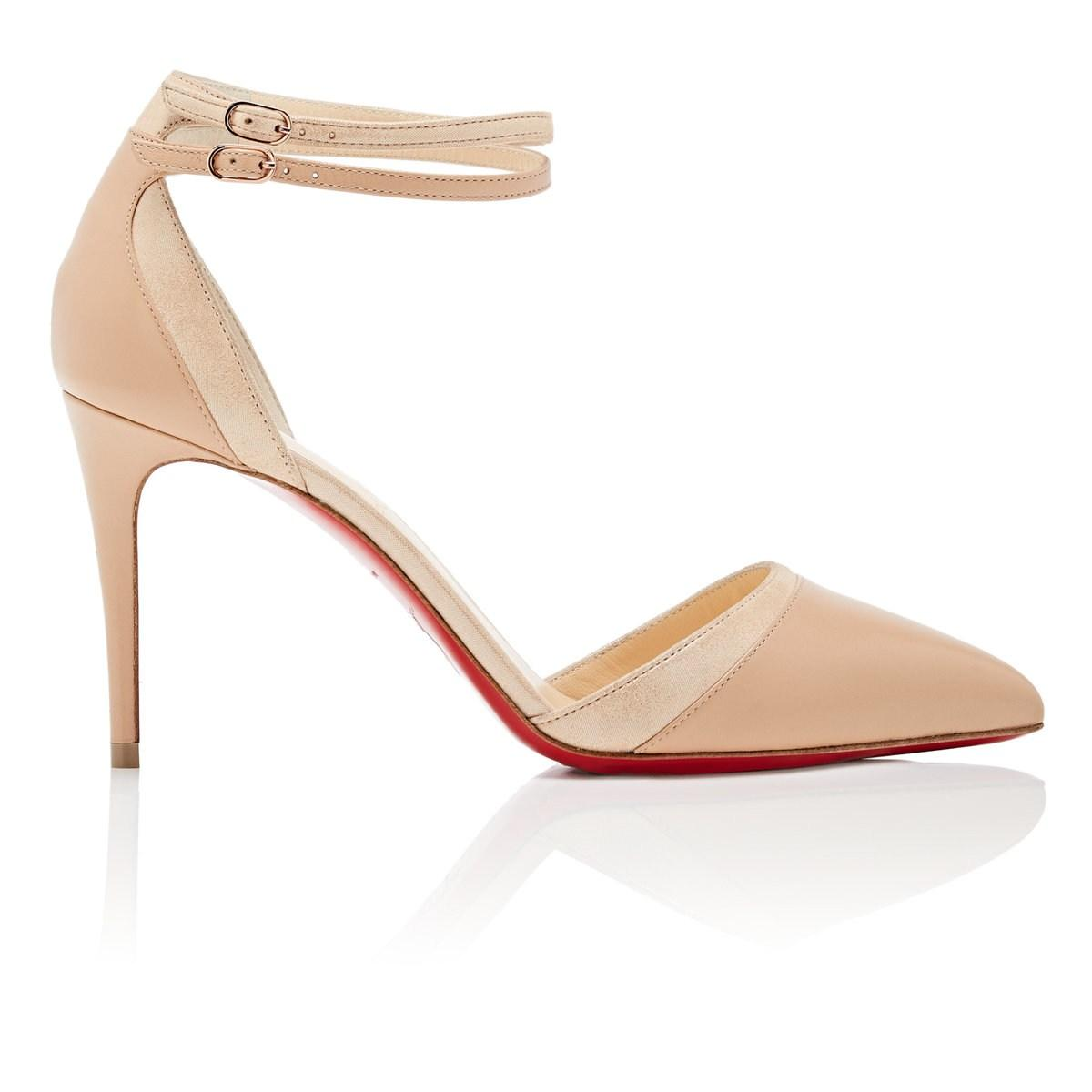 d1132797155 Christian Louboutin Uptown-double Leather Pumps - Lyst