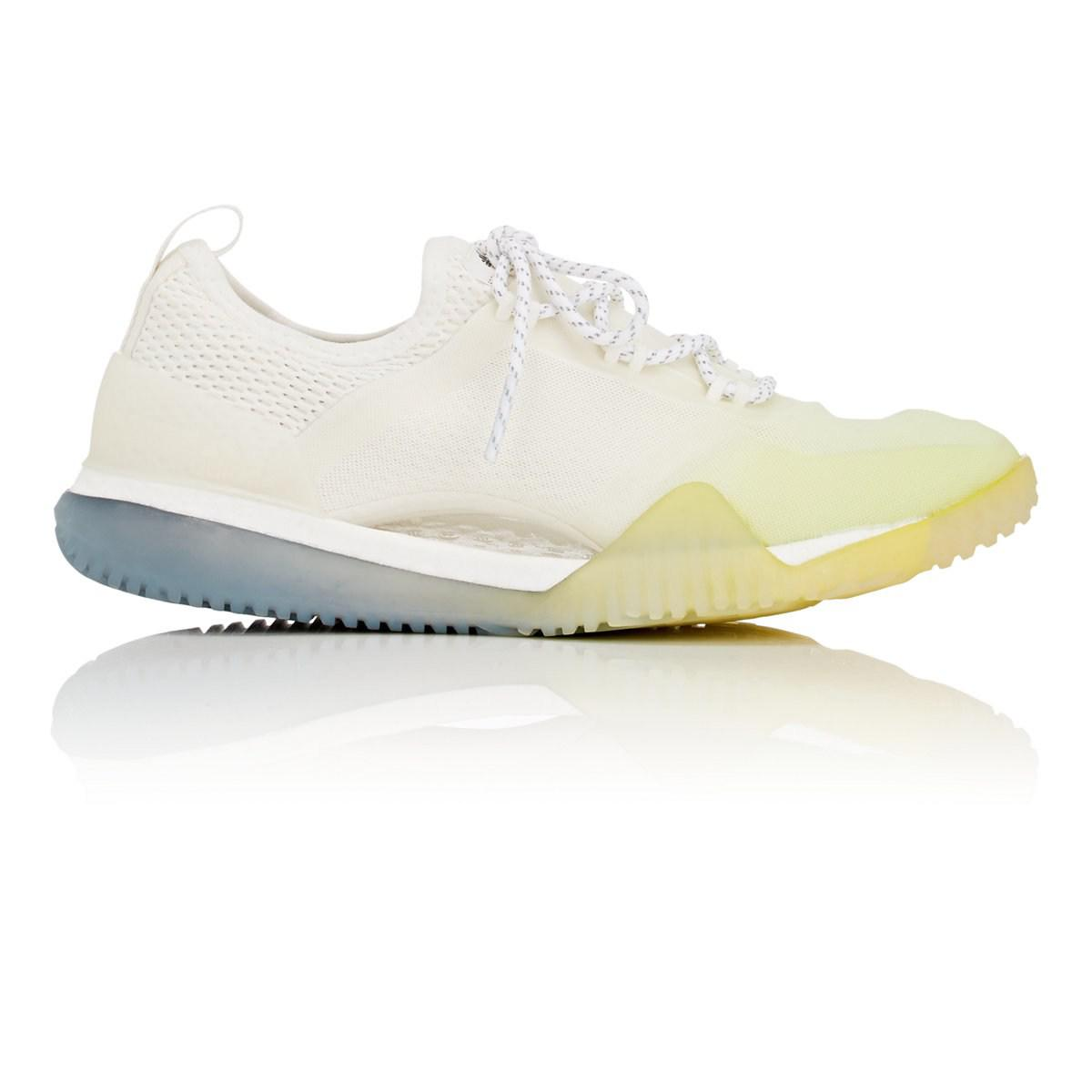 c15f48f9b614c Adidas By Stella McCartney - White Pure Boost X Tr 3.0 Sneakers - Lyst.  View fullscreen
