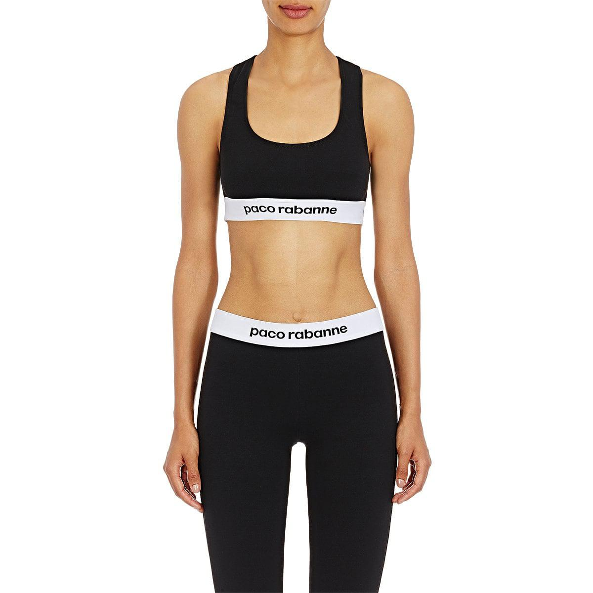 For Sale Buy Authentic Online Womens Logo Sports Bra Paco Rabanne Free Shipping Prices Best Store To Get For Sale S6AH6SOyfc