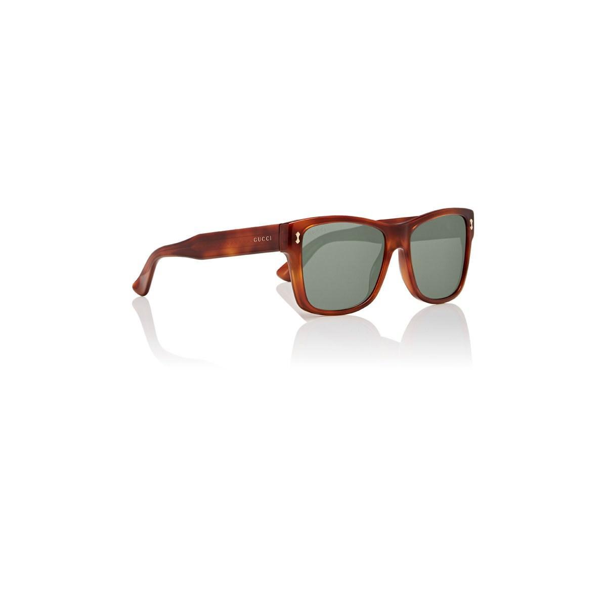 8cd61e94b Gucci 0052s Sunglasses in Brown for Men - Lyst