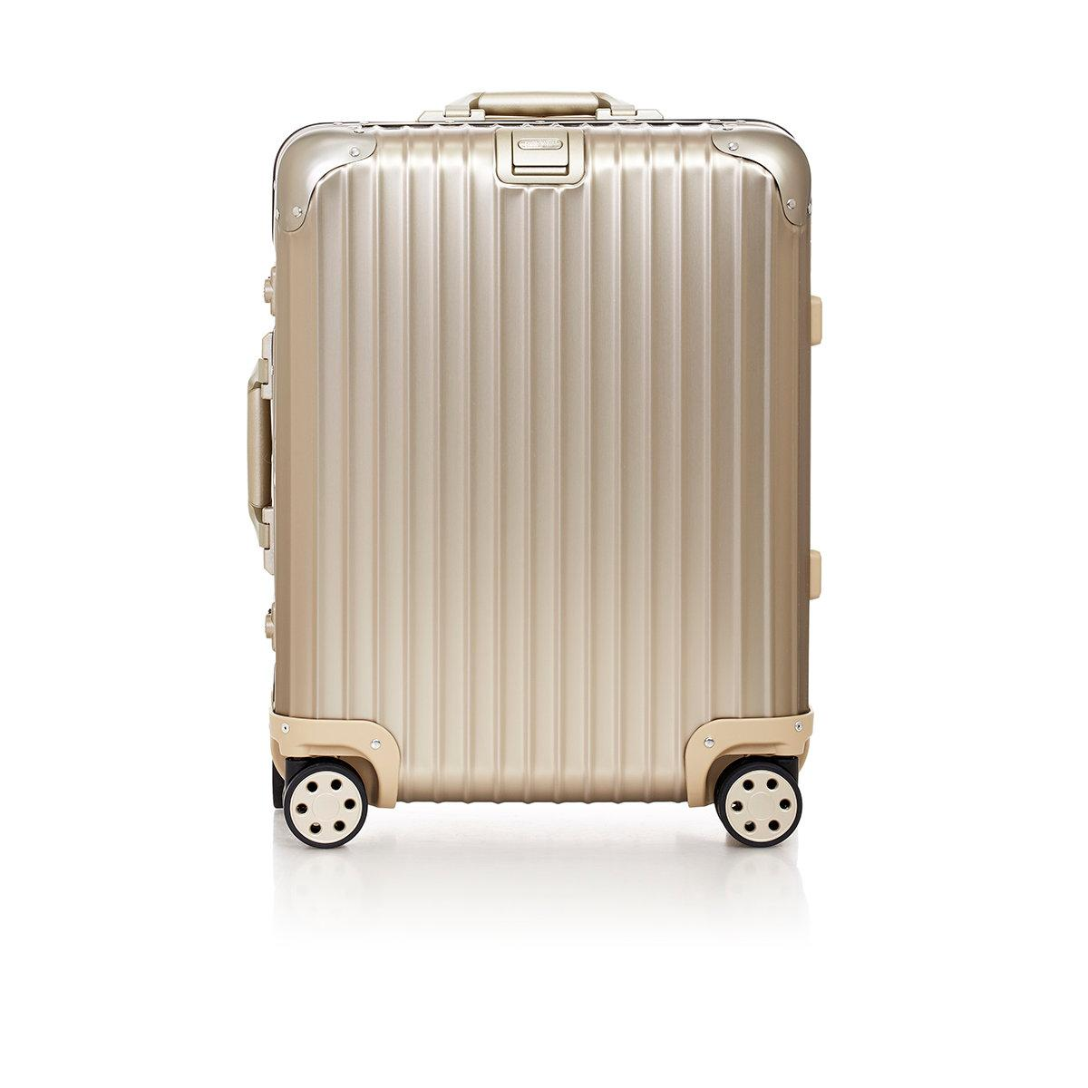 rimowa topas titanium 22 cabin multiwheel trolley in. Black Bedroom Furniture Sets. Home Design Ideas