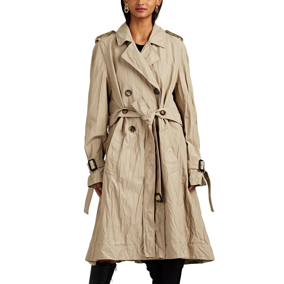 Jw Anderson Double Breasted Trench Coat | ModeSens