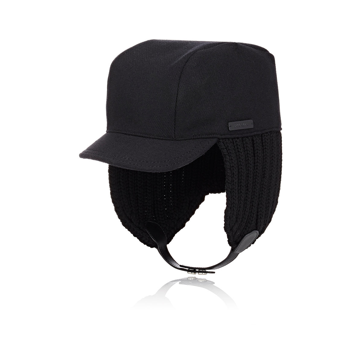 8252171bdb3 Lyst - Prada Trapper Hat in Black for Men