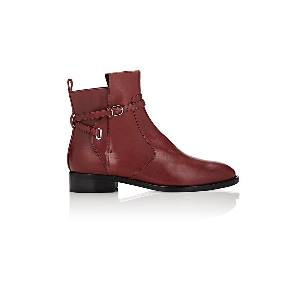 balenciaga s ankle wrap jodhpur boots in lyst