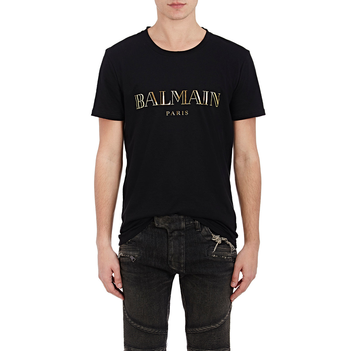 This is a rare Balmain t-shirt from the Decarnin period. Season: SS Up for sale is a preowned Balmain T-shirt. It has distressing and a tiger with the large B logo.