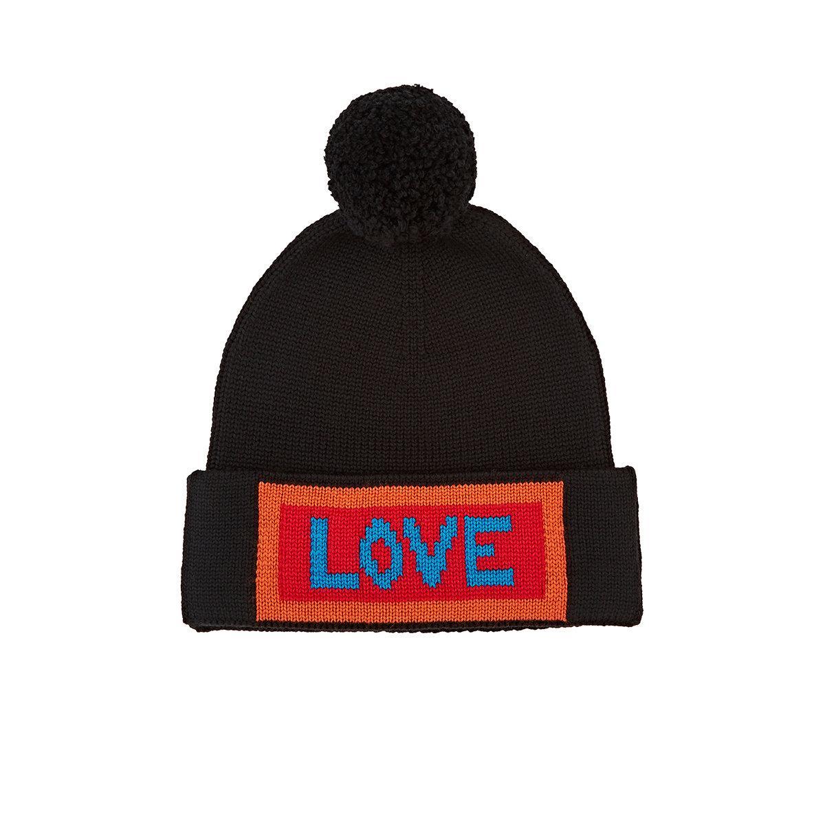 Black Love Beanie Fendi 9Dy0gfCOSv