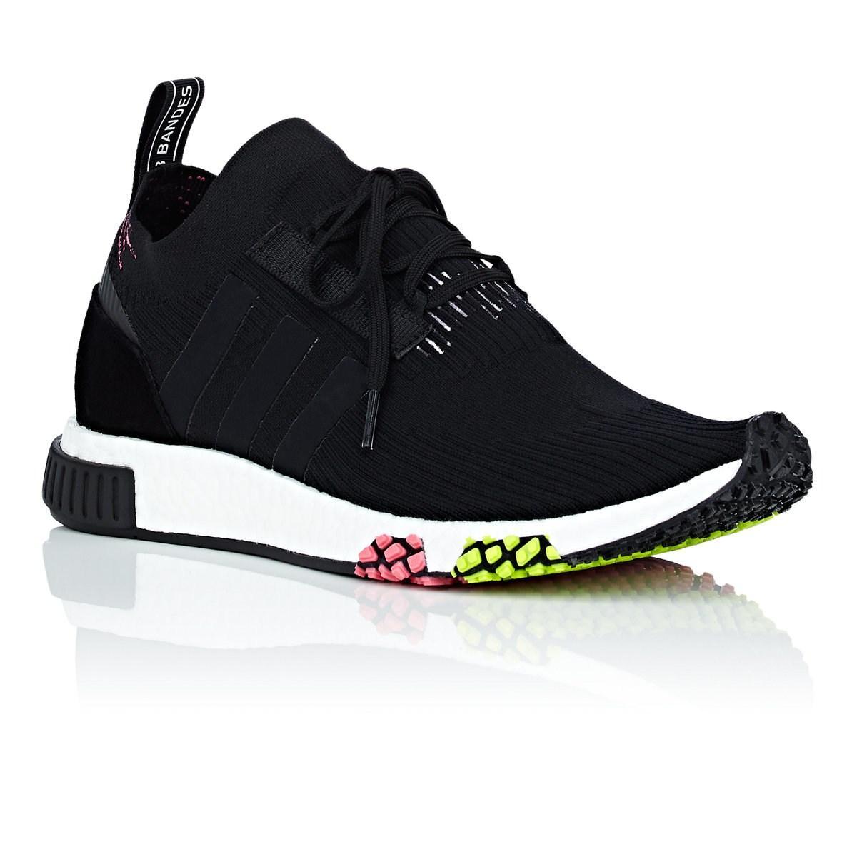 c88660820 Adidas - Black Nmd Racer Primeknit Sneakers for Men - Lyst. View fullscreen