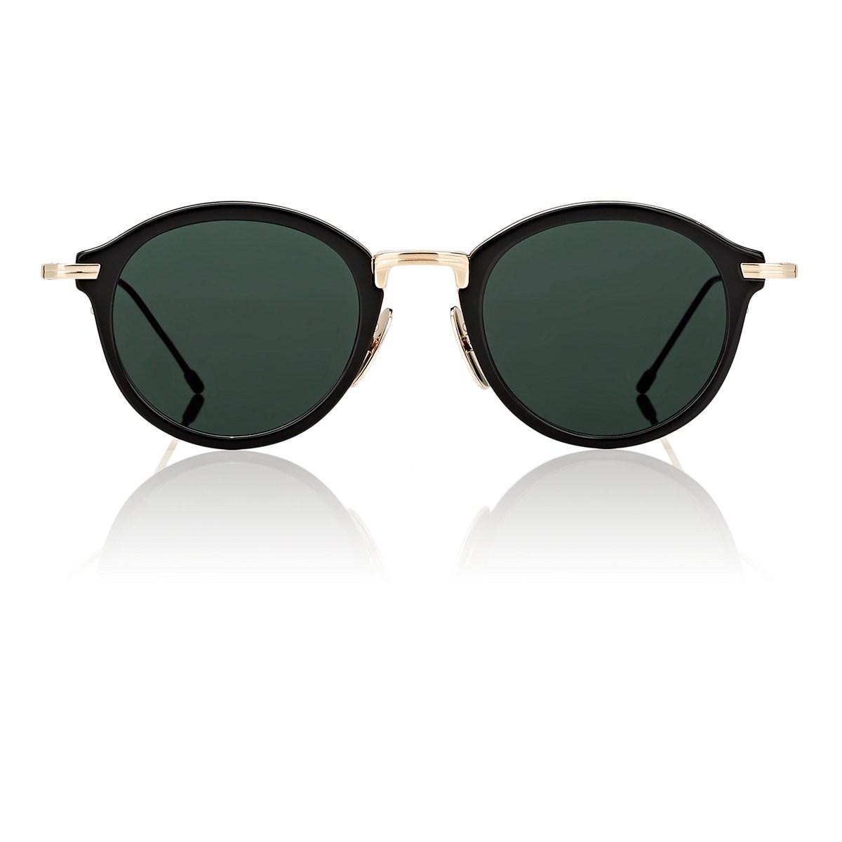 647af9342f14 Thom Browne. Men s Black Tb-908 Sunglasses.  650 From Barneys New York