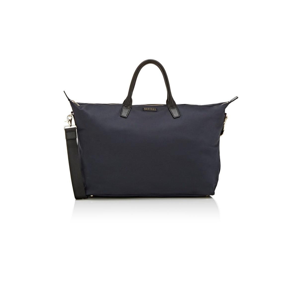 ea8dd5f6636a Lyst - Barneys New York Medium Weekender Bag in Blue for Men