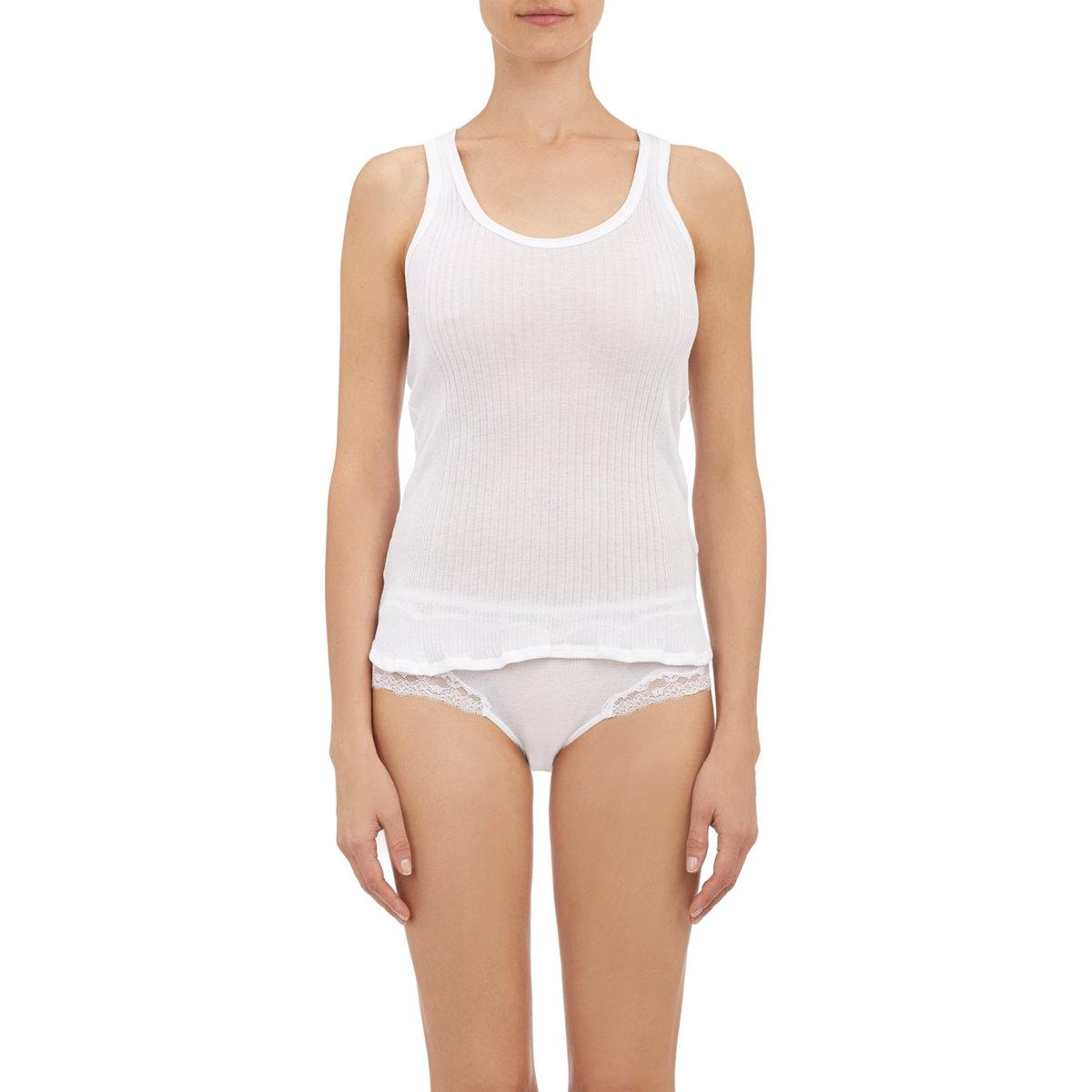 Sale Fast Delivery Womens Madison Cotton Tank Zimmerli Marketable Pay With Visa For Sale qrm2yXWKqM
