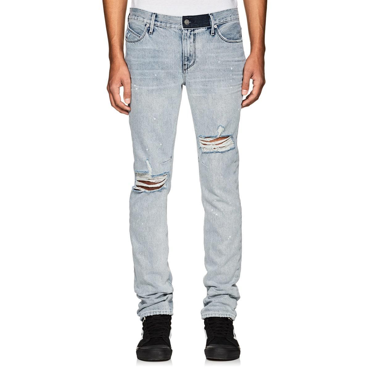 Mens Retraite Anticipée Skinny Jeans Rta L6mRT