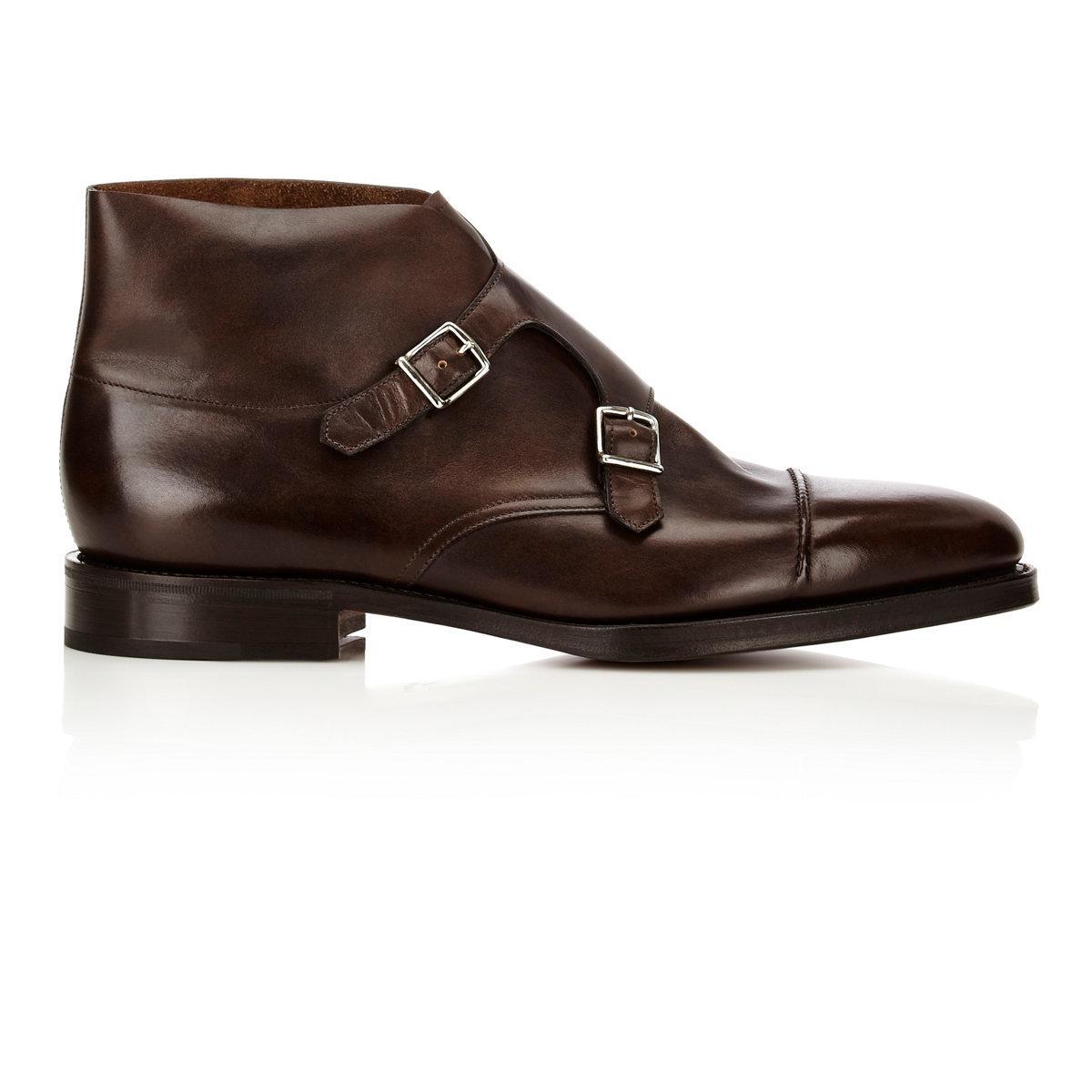 Mens William II Double-Monk-Strap Boots John Lobb wMJRsKGp