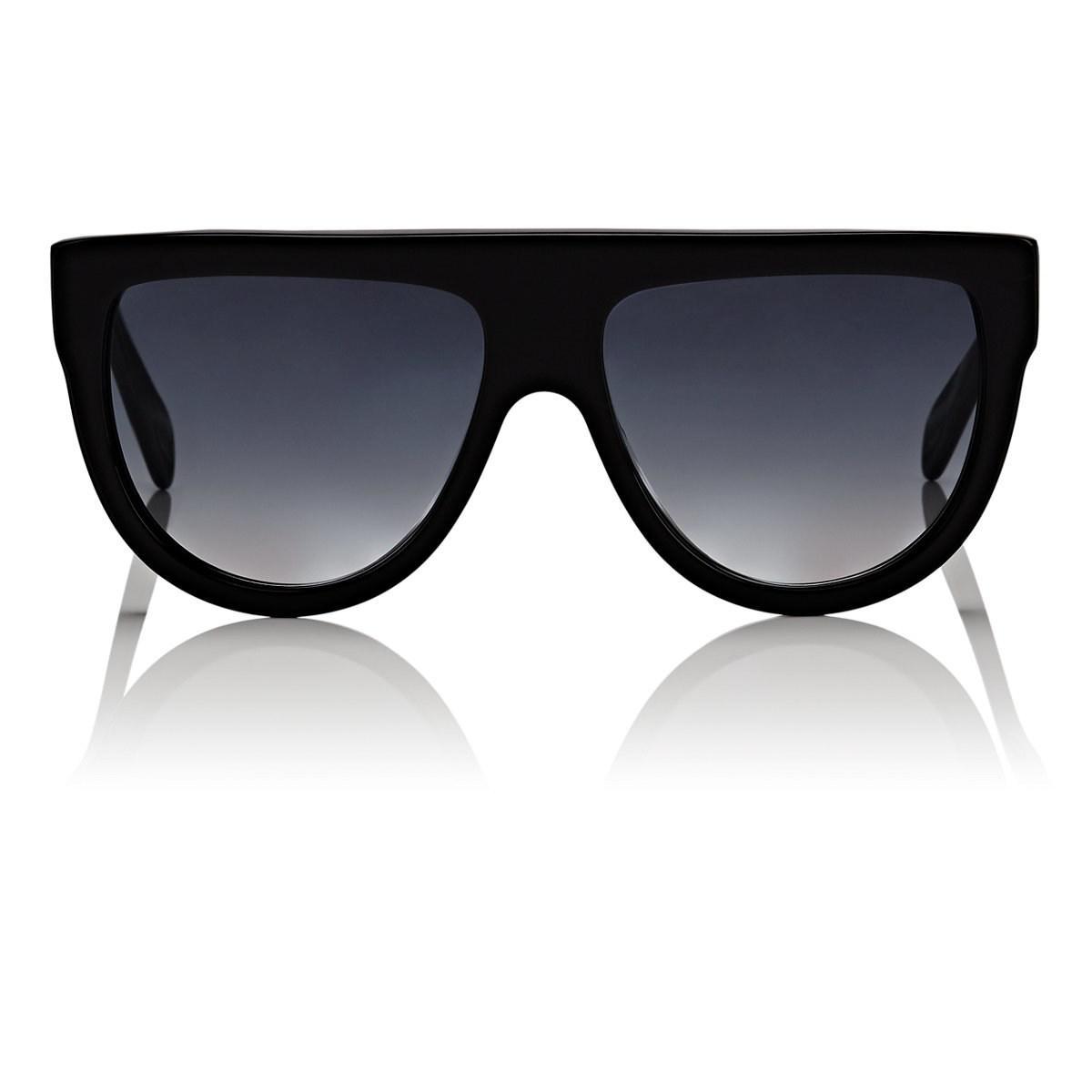 4255a4b7fb4 Céline Aviator Sunglasses in Black - Lyst