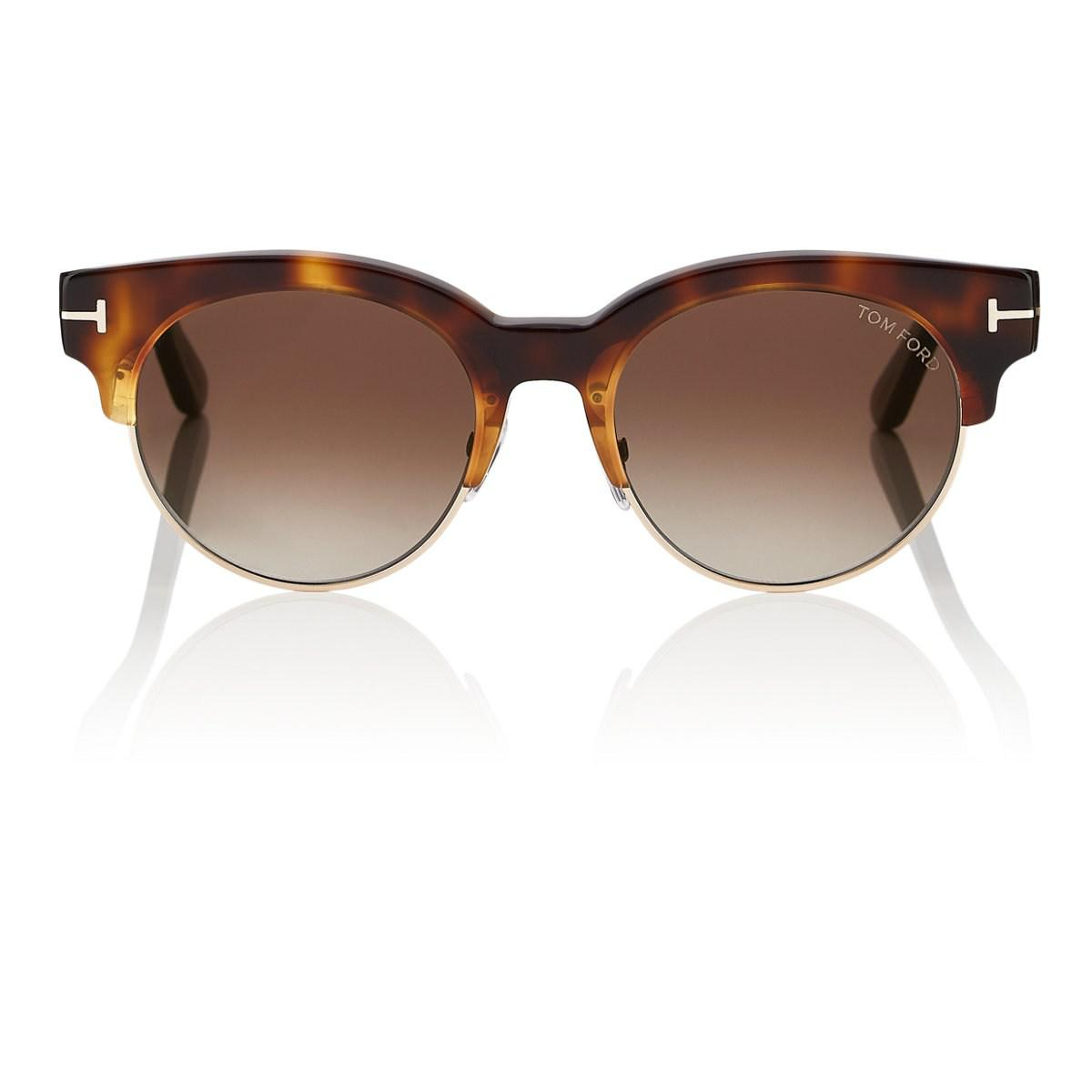 763ce335c53d Lyst - Tom Ford Henri Sunglasses in Brown for Men