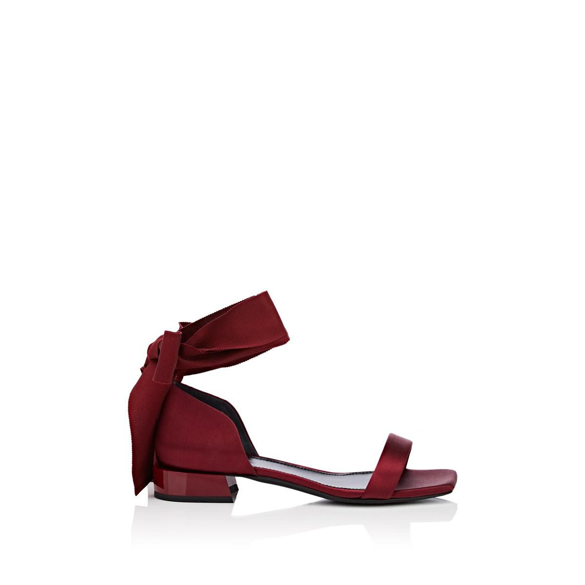 fc449bd7d80c Lanvin. Women s Red Satin Ankle-tie Sandals. £627 From Barneys New York ...