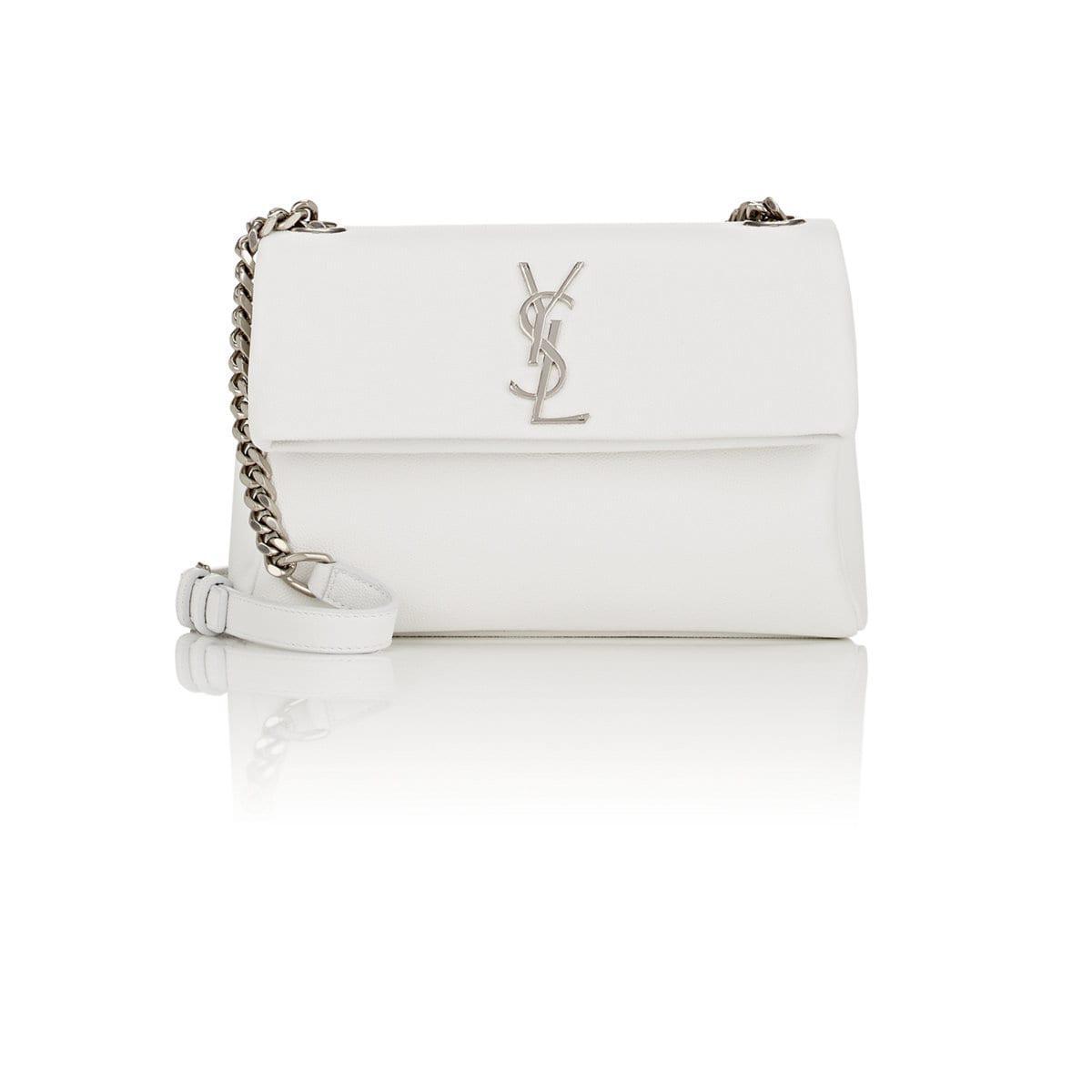 1f38e13d943 Lyst - Saint Laurent Monogram West Hollywood Leather Shoulder Bag in ...
