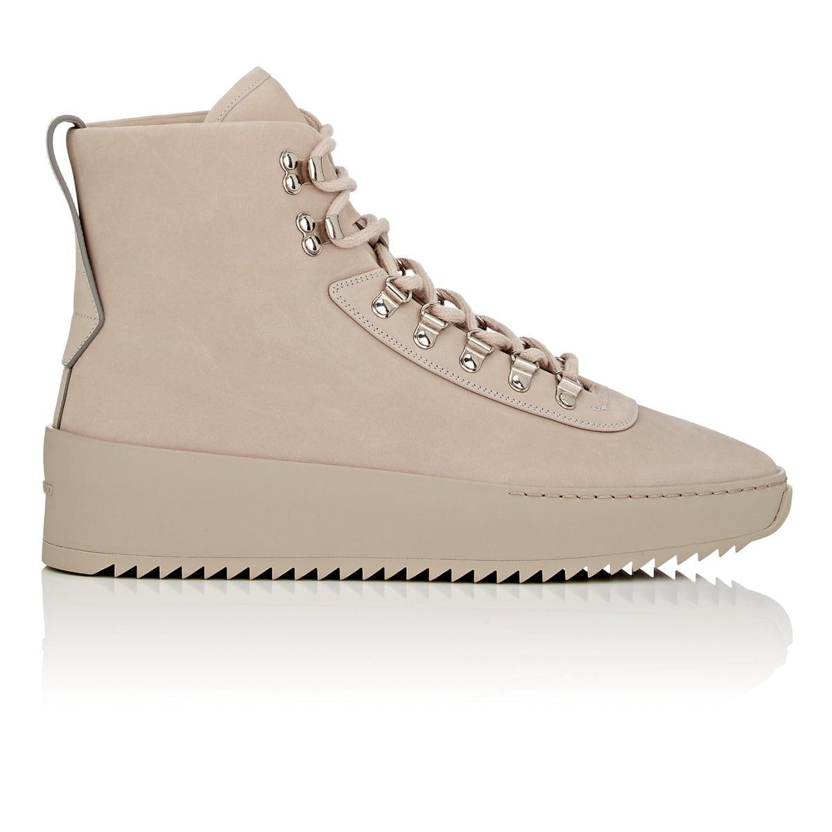 FEAR OF GODNubuck Leather Hiking Sneakers in . 62YiM4dof