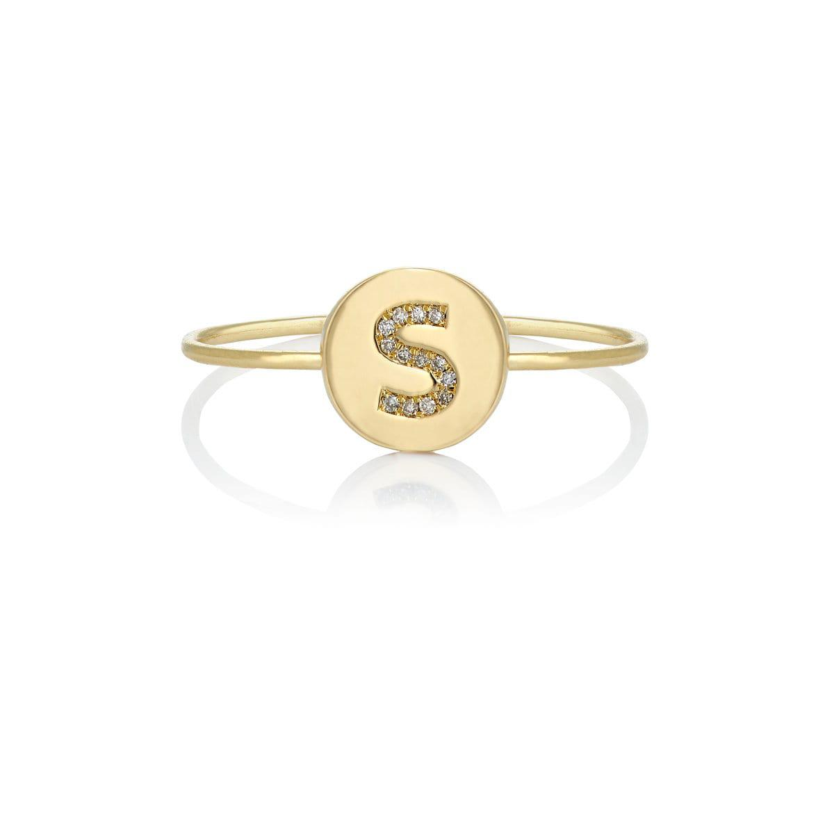 Jennifer Meyer Womens Mini Flower Ring 0QIwc9NhJI