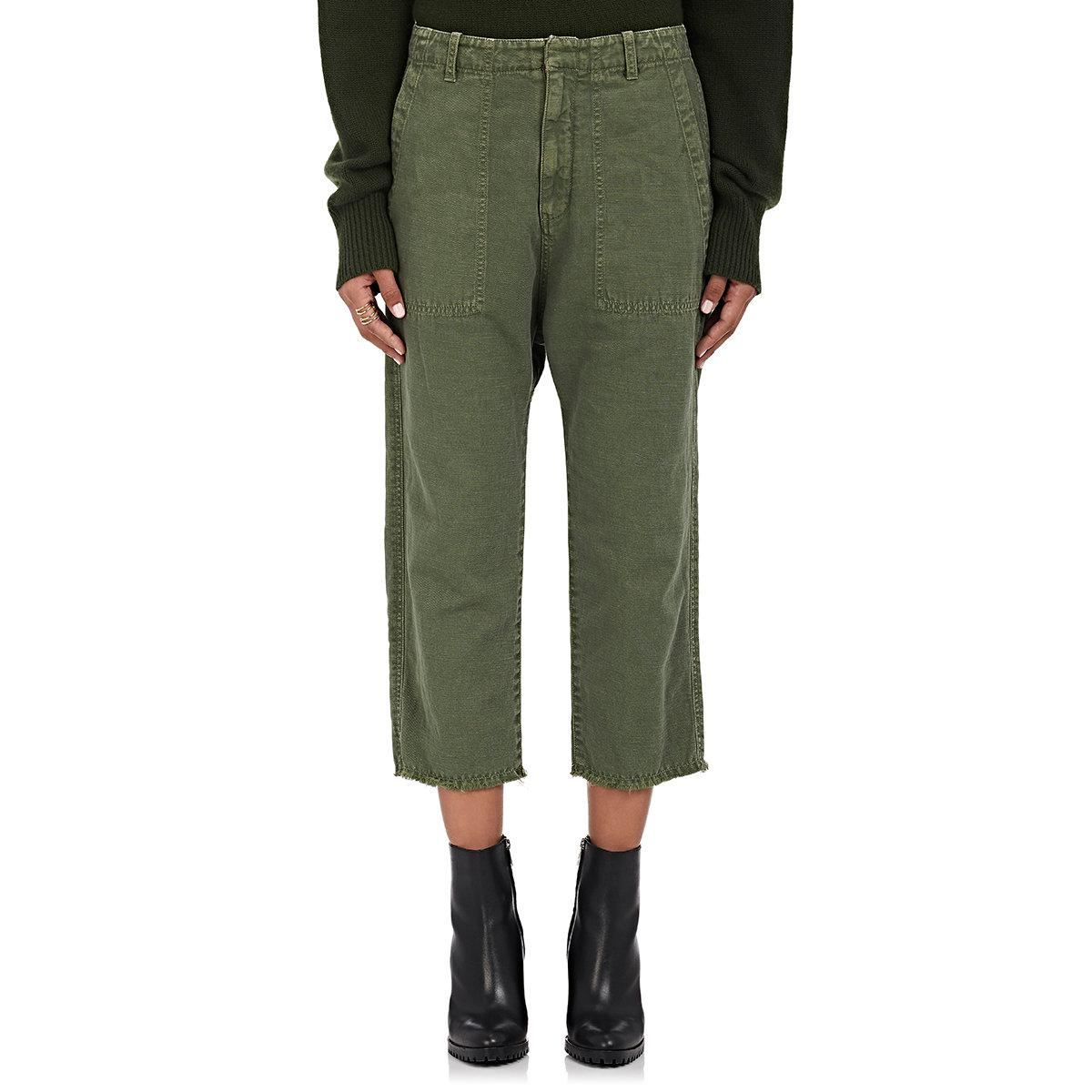 Womens Luna Cotton-Linen Twill Drop-Rise Pants Nili Lotan Cheap Discount Sale avLRkmj2