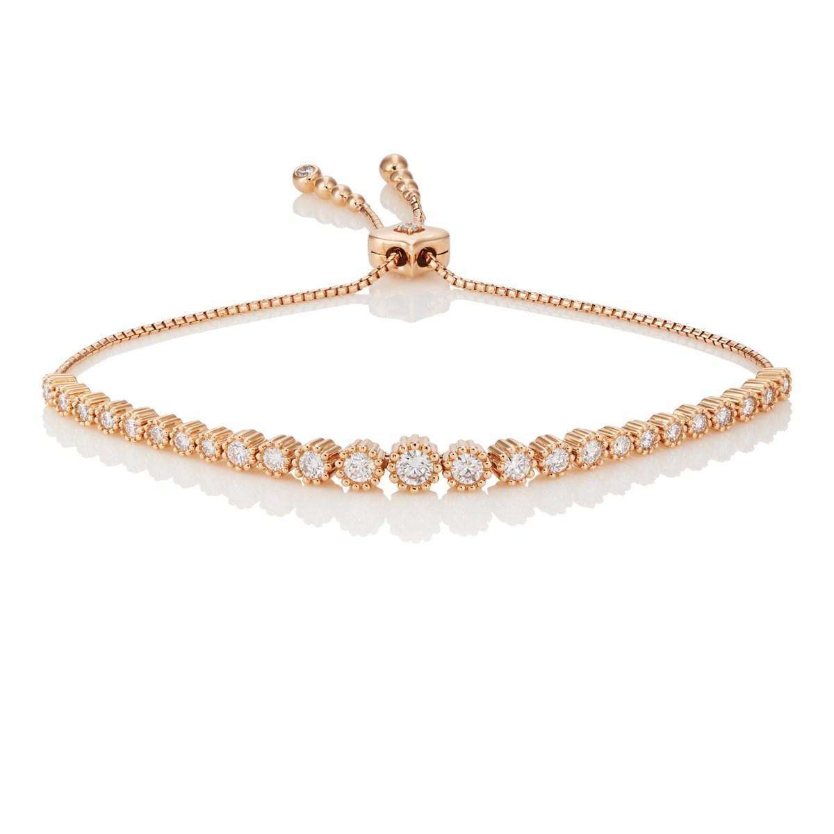 Sara Weinstock Womens Isadora Floret Bolo Bracelet wcW3QOUKbQ