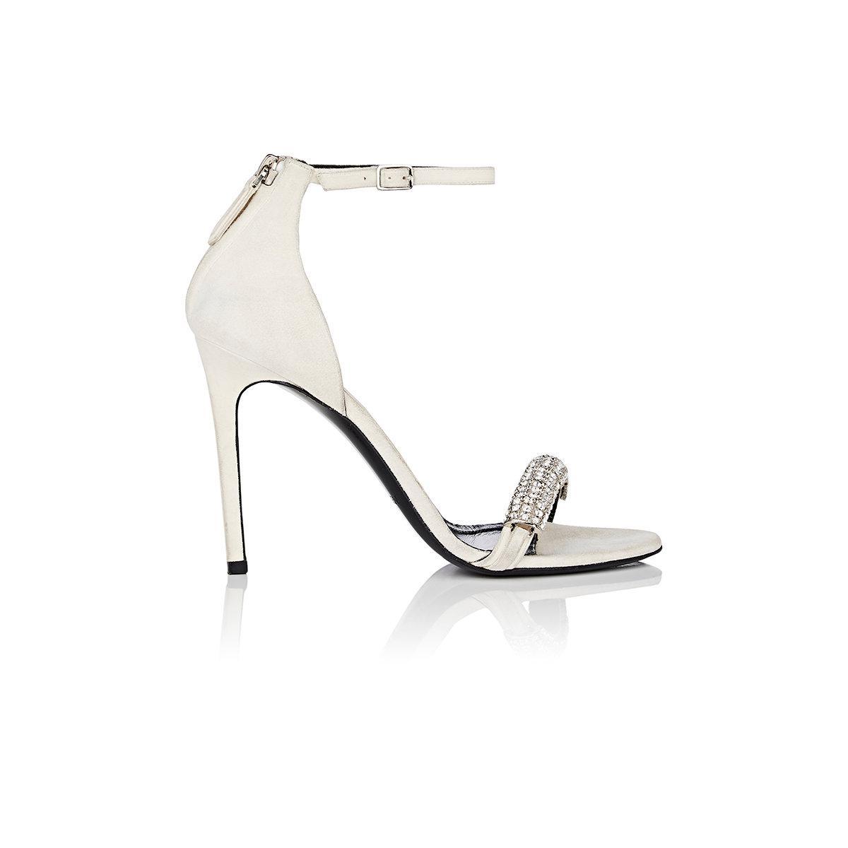 Womens Valery Suede & Python Sandals Calvin Klein 2YC6Z