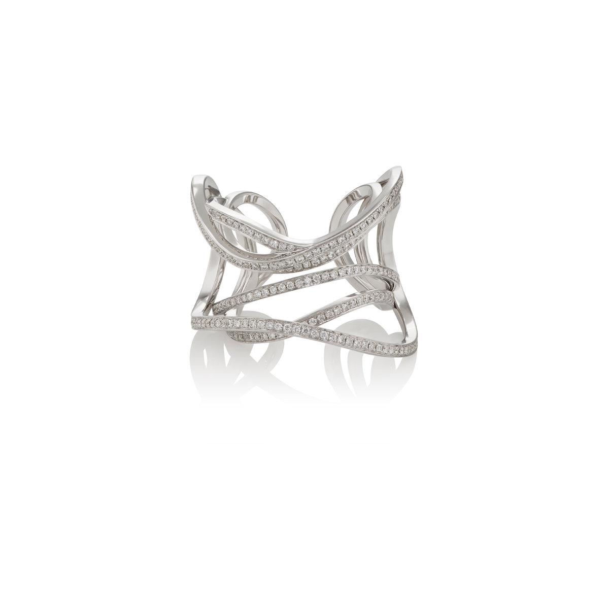 Womens Serpentine Cuff Ring Dauphin kDFHXfcj
