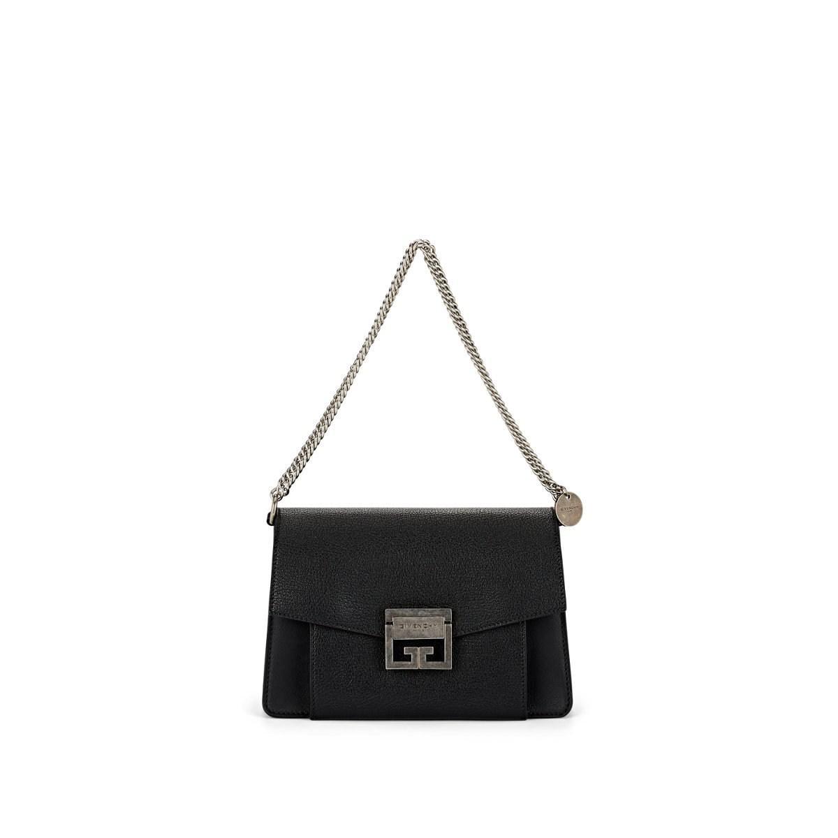 77b823c1c06 Givenchy - Black Gv3 Small Leather Shoulder Bag - Lyst. View fullscreen