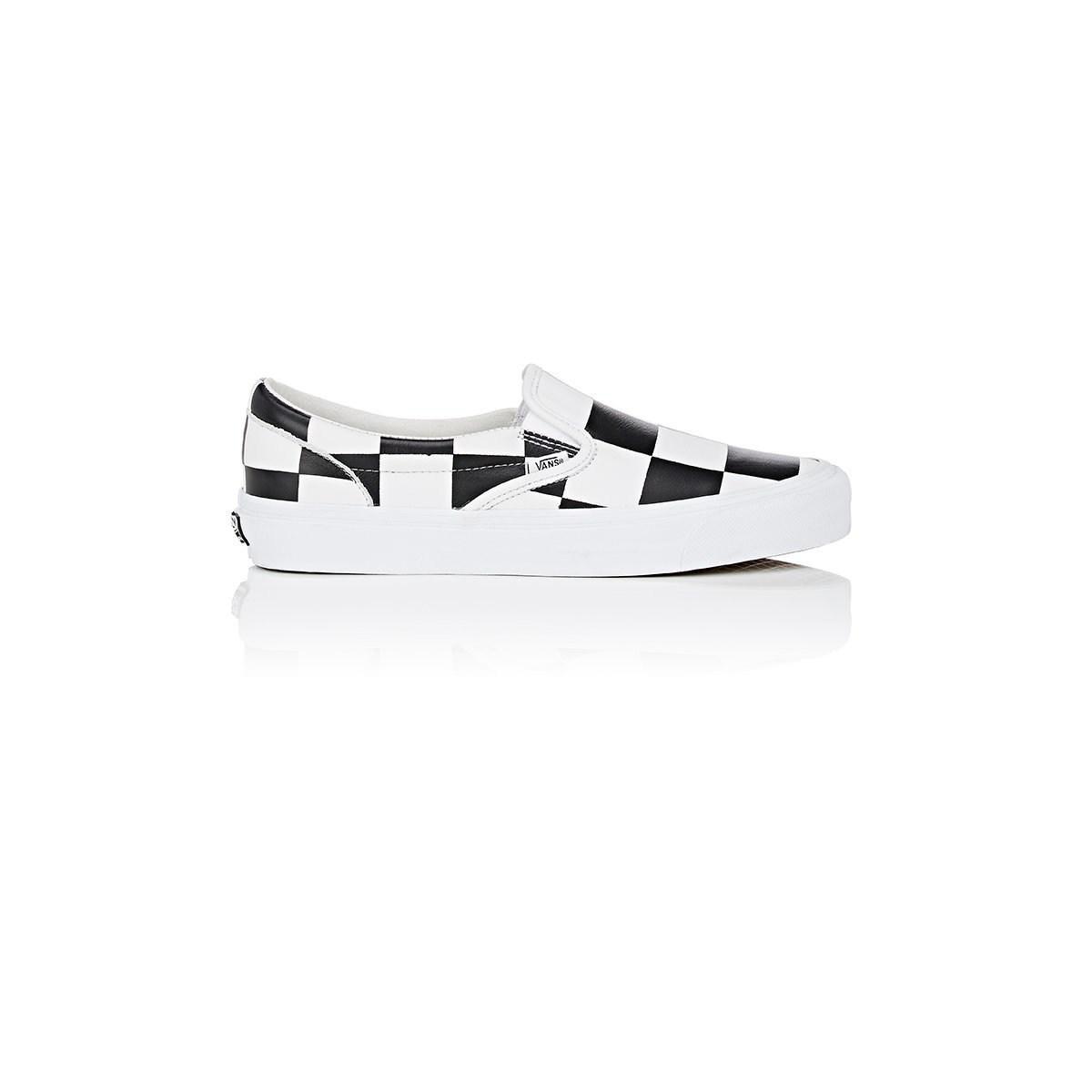 ae366729a8 Vans Og Classic Lx Leather Sneakers in White for Men - Lyst