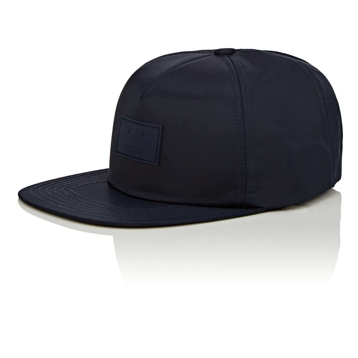 d269ccd5552 Acne Studios Covia Face Baseball Cap in Blue for Men - Lyst